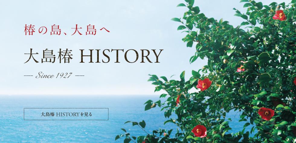 大島椿HISTORY